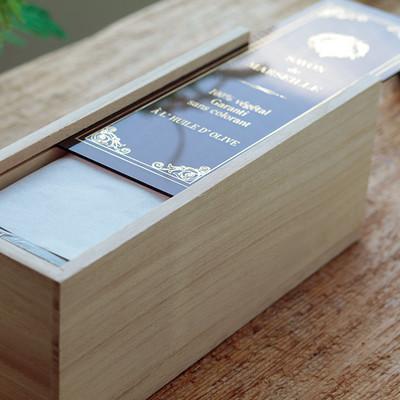 マルセイユ石鹸マリウスファーブル ビッグキューブギフト オリーブ600g×3個 木箱入り