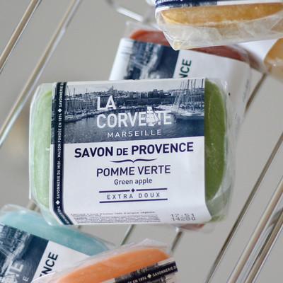マルセイユ石鹸「ラ・コルベット」サボン・ド・プロヴァンス