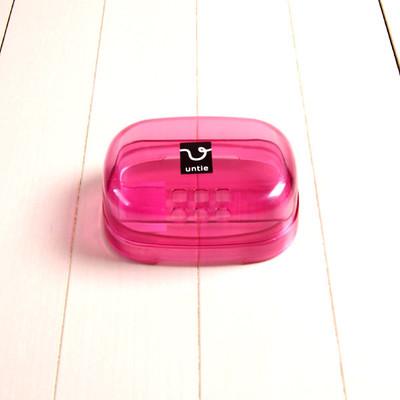 石鹸箱 E「アンティクリスタル」(ピンク)