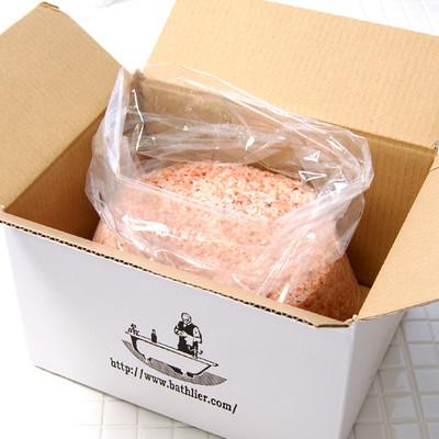 入浴剤「魔法のバスソルト」ヒマラヤ岩塩(箱入り/5kg)【バスリエ(BATHLIER)オリジナル】