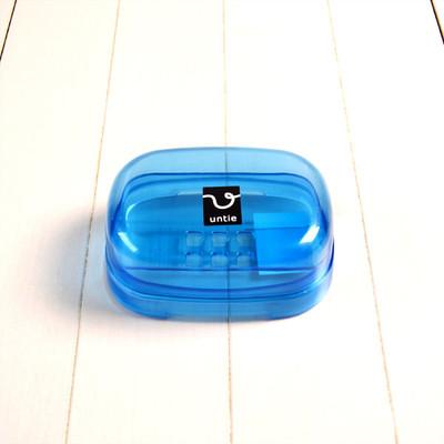 石鹸箱 E「アンティクリスタル」(ブルー)