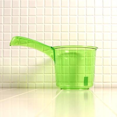 手桶 S「アンティクリスタル」(グリーン)