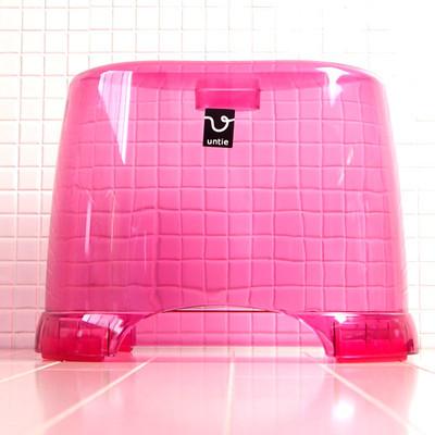 風呂椅子角 HK「アンティクリスタル」(Lサイズ/ピンク)