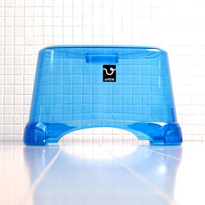 風呂椅子角 CL「アンティクリスタル」(Mサイズ/ブルー)