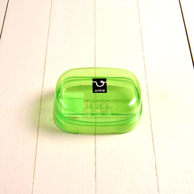 石鹸箱 E「アンティクリスタル」(グリーン)